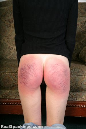 Real Spankings - Rae Spanked By Mr. M (part 2 Of 2) - image 12