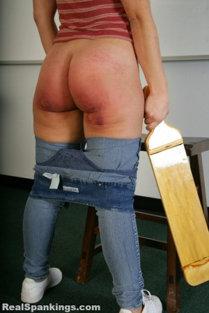 Real Spankings - School Swats : Kenzie - image 16