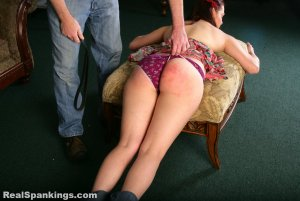 Real Spankings - Syrena Is Spanked By Mr. M (part 2 Of 2) - image 16