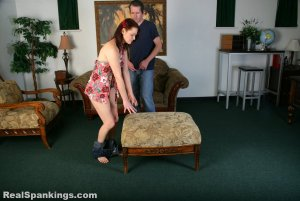 Real Spankings - Syrena Is Spanked By Mr. M (part 2 Of 2) - image 12