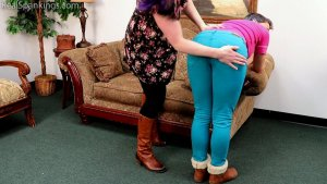 Real Spankings - Kestrel Is Spanked For Being Sent Home From Work (part 1 Of 2) - image 17