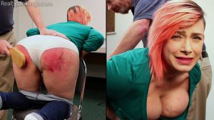 Real Spankings - Faces: Mila - image 2