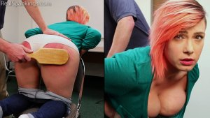 Real Spankings - Faces: Mila - image 12