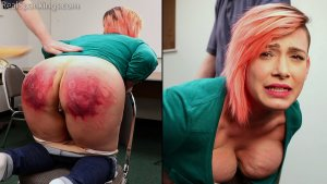 Real Spankings - Faces: Mila - image 11