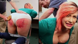 Real Spankings - Faces: Mila - image 14