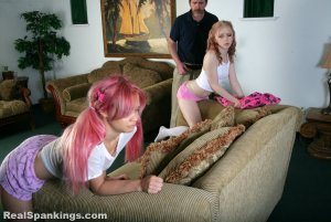 Real Spankings - Sleepover Straddle Spanking (part 1 Of 4) - image 13