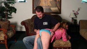 Real Spankings - Spanked At Bedtime (part 1 Of 2) - image 1