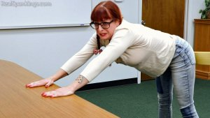Real Spankings - Paddled Instead Of Suspended - image 14
