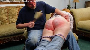 Real Spankings - Severe Hairbrushing And Mouthsoaping - image 5
