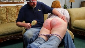 Real Spankings - Severe Hairbrushing And Mouthsoaping - image 2