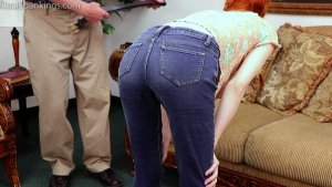 Real Spankings - Belt Test For Julia - image 1