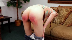 Real Spankings - Belt Test For Julia - image 9