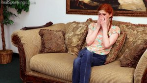 Real Spankings - Belt Test For Julia - image 11