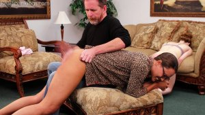 Real Spankings - Julia And Ambriel's Bedtime Spanking (part 2 Of 2) - image 10