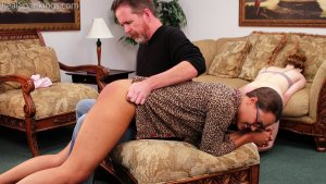 Real Spankings - Julia And Ambriel's Bedtime Spanking (part 2 Of 2) - image 3