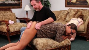 Real Spankings - Julia And Ambriel's Bedtime Spanking (part 2 Of 2) - image 9