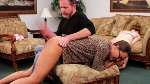 Real Spankings - Julia And Ambriel's Bedtime Spanking (part 2 Of 2) - image 8