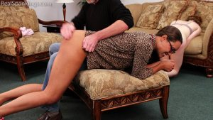 Real Spankings - Julia And Ambriel's Bedtime Spanking (part 2 Of 2) - image 12