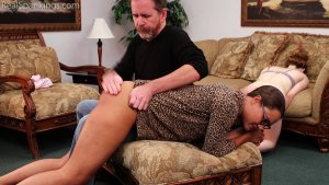 Real Spankings - Julia And Ambriel's Bedtime Spanking (part 2 Of 2) - image 14