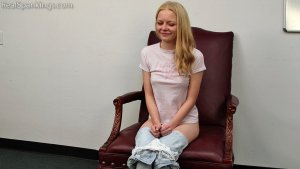 Real Spankings - Belt Test: Alice (part 2 Of 2) - image 1