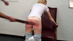 Real Spankings - Belt Test: Alice (part 2 Of 2) - image 4