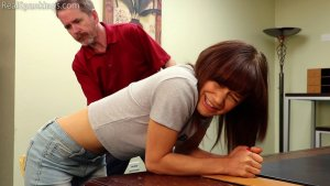 Real Spankings - Kiki And Ambriel Paddled By The Principal (part 1 Of 2) - image 7