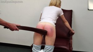 Real Spankings - Belt Test: Alice (part 2 Of 2) - image 14