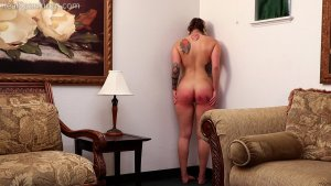 Real Spankings - Cara's Fully Nude Punishment (part 2 Of 2) - image 5