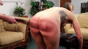 Real Spankings - Cara's Fully Nude Punishment (part 2 Of 2) - image 1