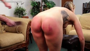Real Spankings - Cara's Fully Nude Punishment (part 2 Of 2) - image 6