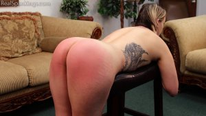 Real Spankings - Cara's Fully Nude Punishment (part 2 Of 2) - image 7