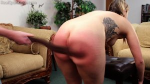Real Spankings - Cara's Fully Nude Punishment (part 2 Of 2) - image 10