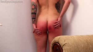 Real Spankings - Cara's Fully Nude Punishment (part 2 Of 2) - image 17