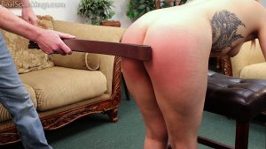 Real Spankings - Cara's Fully Nude Punishment (part 2 Of 2) - image 12