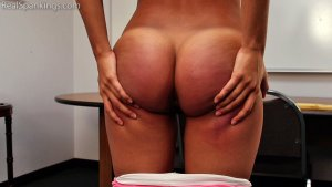 Real Spankings - Cleo: Paddled By Mr. M - image 13
