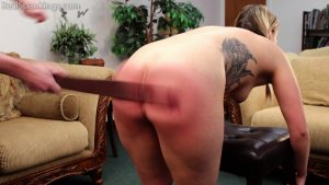 Real Spankings - Cara's Fully Nude Punishment (part 2 Of 2) - image 14