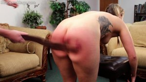 Real Spankings - Cara's Fully Nude Punishment (part 2 Of 2) - image 16