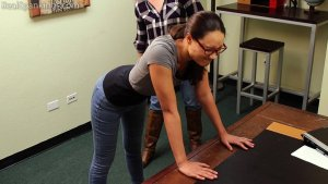 Real Spankings - Paddled For Smoking - image 2