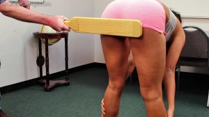 Real Spankings - Cleo: Paddled By Mr. M - image 12