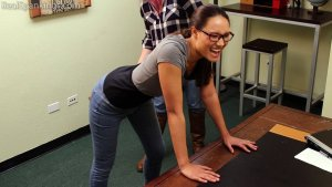 Real Spankings - Paddled For Smoking - image 12