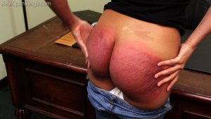 Real Spankings - Paddled For Smoking - image 15