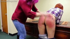Real Spankings - Spanked For Sassing At A Party (part 1 Of 2) - image 5
