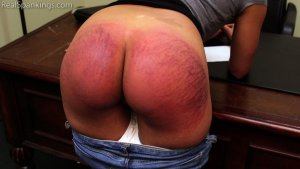 Real Spankings - Paddled For Smoking - image 9