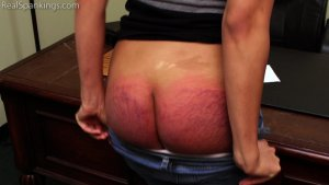 Real Spankings - Paddled For Smoking - image 16