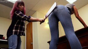 Real Spankings - Paddled For Smoking - image 8
