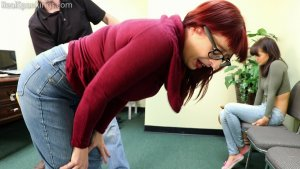 Real Spankings - Two Girls Paddled (part 2 Of 2) - image 6