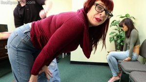Real Spankings - Two Girls Paddled (part 2 Of 2) - image 7