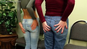 Real Spankings - Two Girls Paddled (part 2 Of 2) - image 15