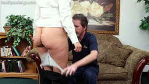 Real Spankings - Rose: Spanked Before Heading Out - image 2