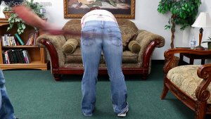 Real Spankings - Ten Gets A Double Dose From Mr. M (part 2 Of 2) - image 1